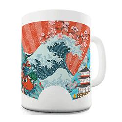 Mug, tasse à thé décoration japon