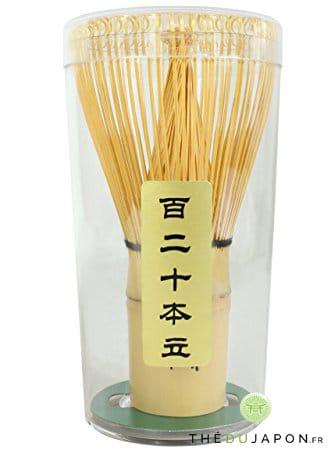 Chasen fouet en bambou pour la préparation du thé matcha