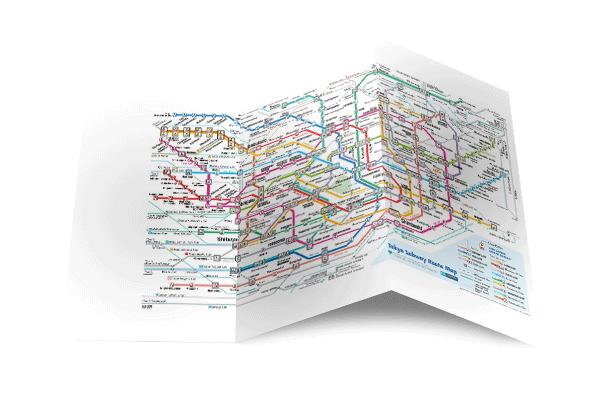 télécharger gratuitement les cartes des transports au Japon